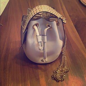 Zara cross body bucket bag